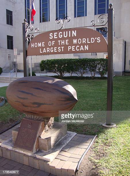 """This courthouse was erected in 1935. It was built in Modern-style designed by L. M. Wirtz. Seguin is the """"Home of the World's Largest Pecan."""" It..."""