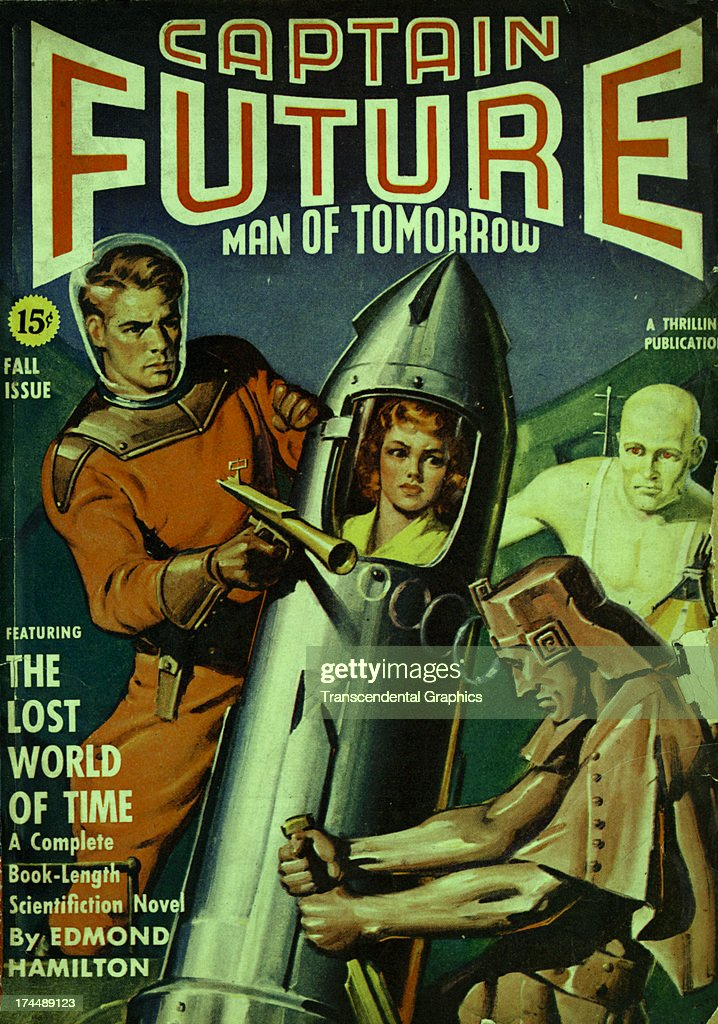 This cover for Captain Future is produced for May of 1936 ...