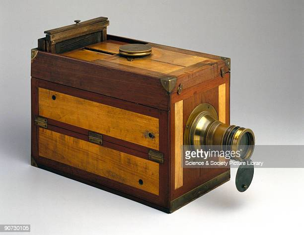 This daguerreotype camera was manufactured in France by Charles Chevalier within a year of the discovery by Louis Daguerre of the first practicable...