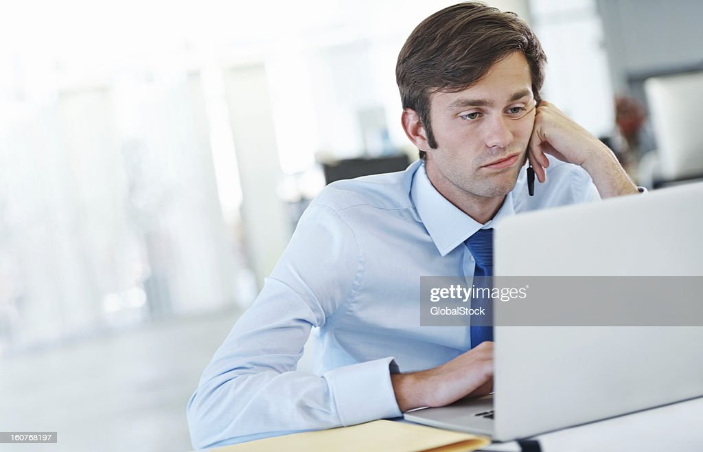 This day is dragging on... : Stock Photo