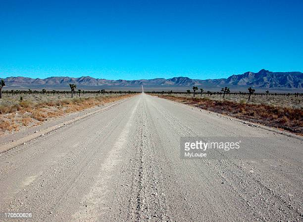 This Dirt Road Leads To Area 51 From The Extraterrestrial Highway Highway 375 South Of Rachel Nevada