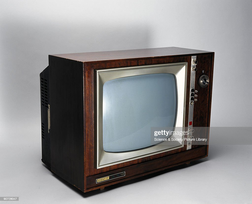 This dual standard 405/625 line colour television set was