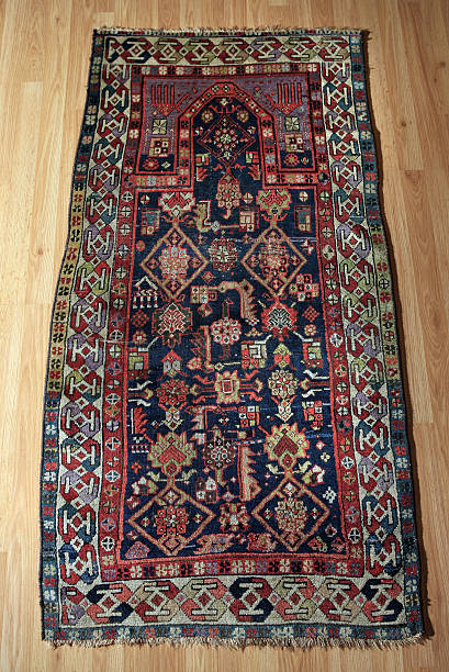 This Early 1900s Prayer Rug From The Caucuses Is Displayed At Yoruk Gallery In Chicago