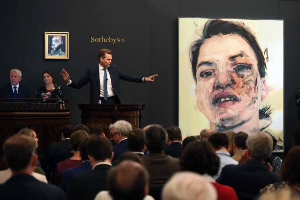 GBR: Sotheby's Contemporary Art Evening Auction