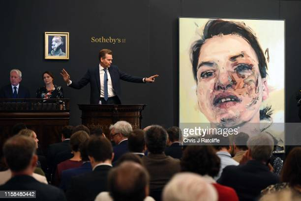 This evening at Sotheby's Contemporary Art Evening Auction in London Francis Bacon's evocative 'SelfPortrait' realised £165 million / $21 million...