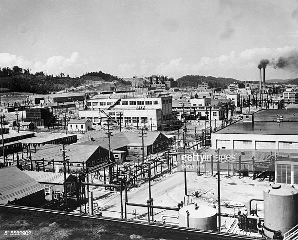 This factory run by the Manhattan Project produced atomic bombs used against Japan during World War II | Location Clinton Engineer Works Tennessee USA