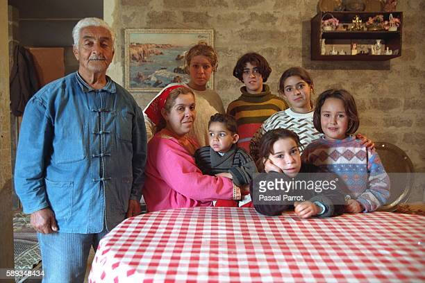 This family lived in the Kasbah They decided to flee in the face of the masacres