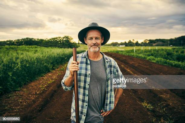 this farm is my pride and joy - portrait stock pictures, royalty-free photos & images