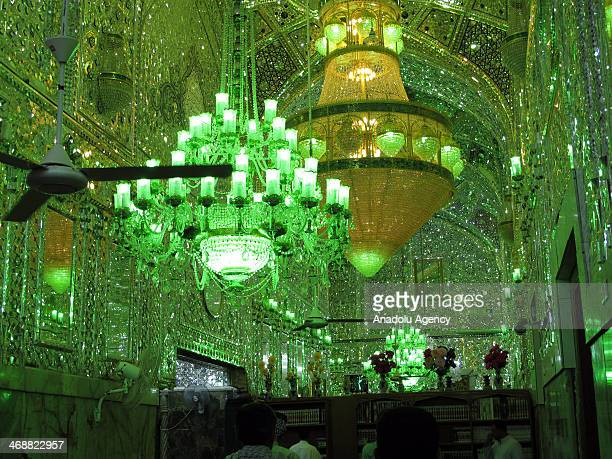 This file photo dated shows the shrine of Imam Ali ibn Abi Talib cousin of the Prophet Muhammad and the fourth of the Rashidun in Najaf 160 kms south...