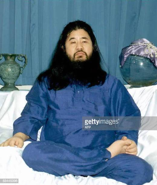 STORY 'JAPANSECTCOURT' This file photo dated October 1990 shows the leader of the Aum Supreme Truth Shoko Asahara The trial of the founder of a...