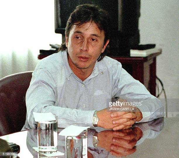 This file photo taken in November 1999 shows Colombian drug trafficker Fabio Ochoa in Bogota Colombia Colombian President Andres Pastrana authorized...