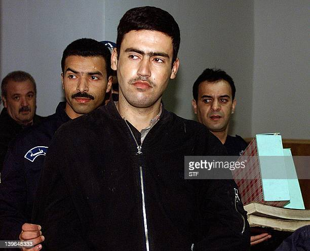 This file picture dated 22 December 1999 shows Fouad Boulemia arriving at the court house of Algiers Fouad Boulemia a member of the dissolved Islamic...