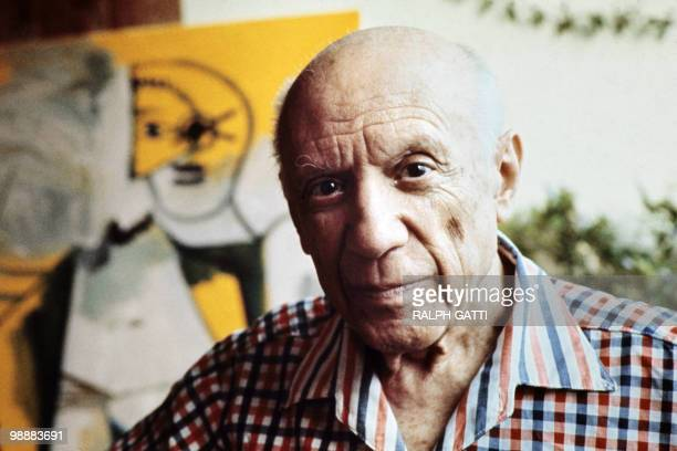 This file pictured dated 13 October 1971 shows Spanish painter Pablo Picasso in Mougins France The town of Guernica will commemorate next 26 April...