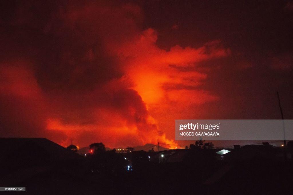 DRCONGO-DISASTER-VOLCANO : News Photo