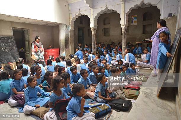 This government school for Muslim girls has no electricity established in 1940 This girls school in Anderkot Ajmer operate in a rented building since...