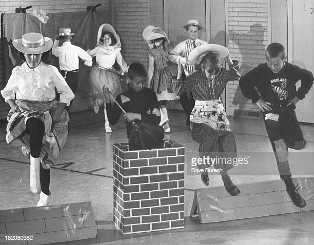 MAR 18 1966 MAR 21 1966 MAR 23 1966 This group of dancers representing chimney sweeps will do a version from Mary Poppins In front row Laura Goshorn...