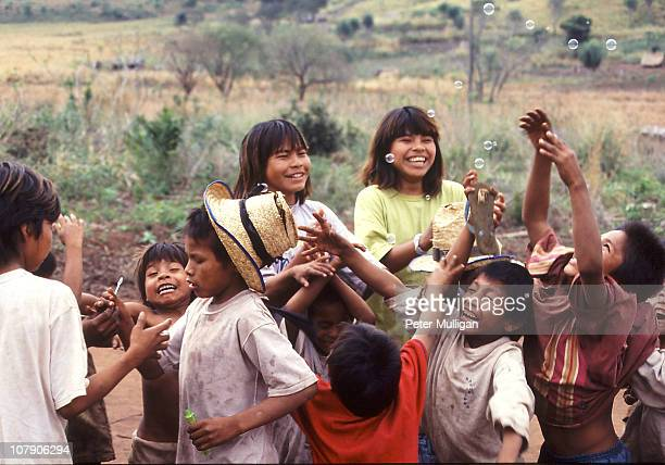 This Guarani community have just returned to their ancestral lands after more than 40 years living in a grim reservation. Cause for celebration...