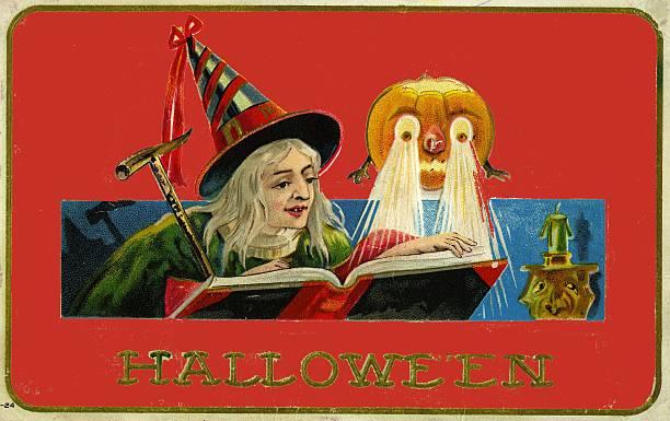 UNS: Vintage Halloween Postcards