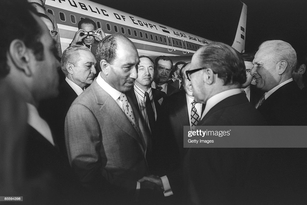 Thirty Years Since Signing Of Egypt-Israel Peace Treaty : News Photo