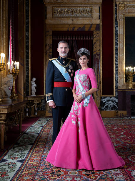 ESP: Official photographs of Spanish Royals and Her Royal Highnesses the Princess of Asturias and the Infanta Doña Sofía