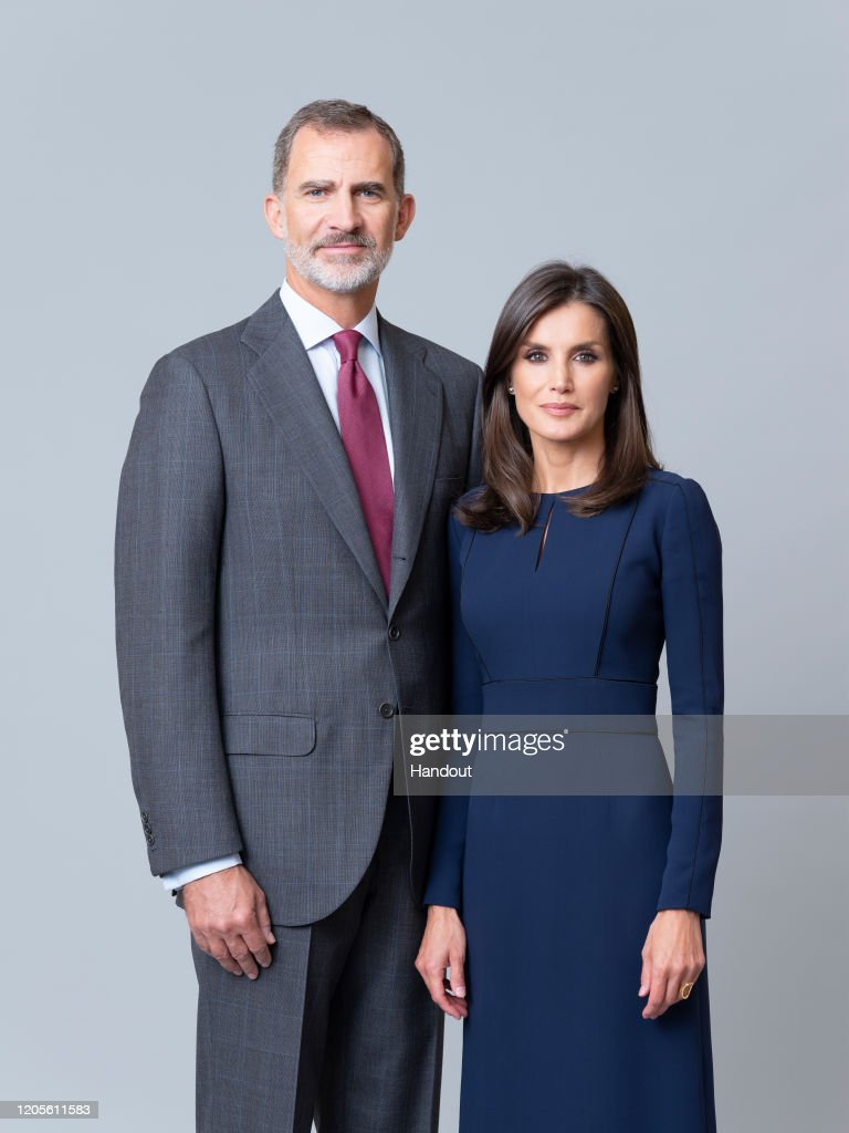 Official Photographs of Spanish Royals and Her Royal Highnesses the Princess of Asturias and the Infanta Doña Sofía : Nachrichtenfoto