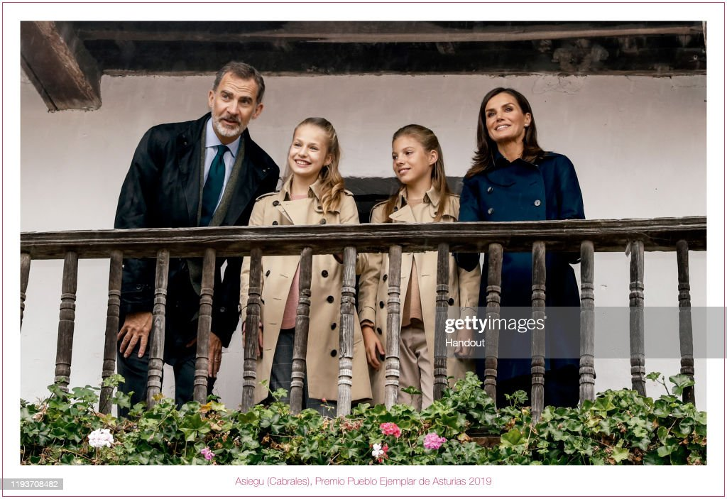 Spanish Royals Christmas Cards 2019 : Nieuwsfoto's