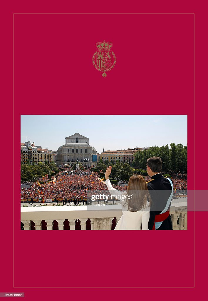 Spanish Royals Christmas Cards 2014 : News Photo