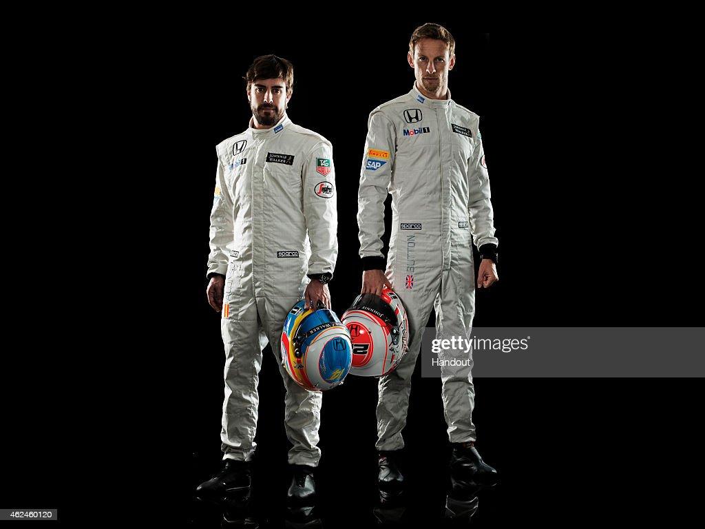 McLaren-Honda MP4-30 Car Launch : News Photo
