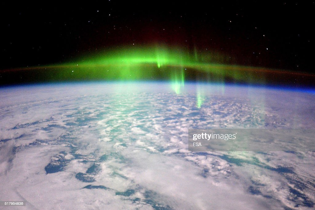 This handout image supplied by the European Space Agency (ESA), shows a view of aurora in an image taken by ESA astronaut Tim Peake on the International Space Station, February 23, 2016. ESA astronaut Tim Peake is performing more than 30 scientific experiments and taking part in numerous others from ESA's international partners during his six-month mission, named Principia, after Isaac Newtons ground-breaking Naturalis Principia Mathematica, which describes the principal laws of motion and gravity.