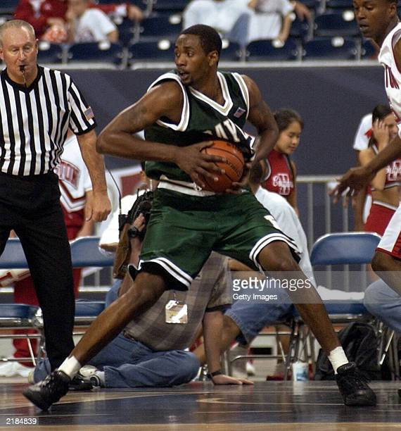 This handout photo is an action shot of Baylor University basketball player Carlton Dotson Carlton Dotson has been arrested and charged with the...