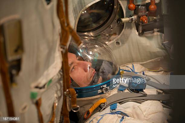 CREDIT AFP PHOTO / ESA / STEPHANE CORVAJA NO This handout photo released by the European Space Agency on November 29 2012 shows European Space Agency...