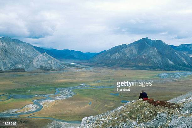 This handout photo shows Upper Sheenjek Valley of the Arctic National Wildlife Refuge August 30 1999 in Alaska