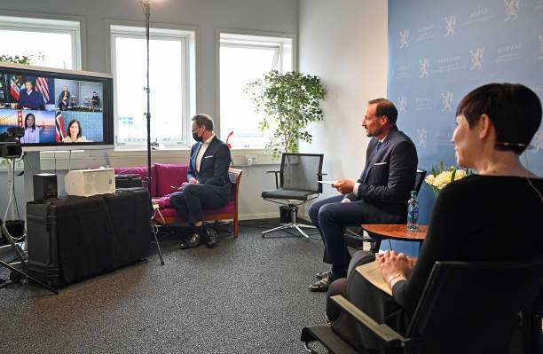 NOR: Virtual Visit Of Crown Prince Haakon Of Norway to California