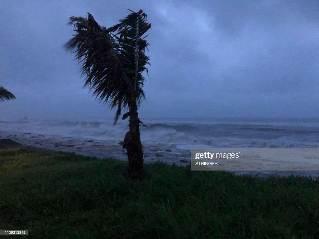 MOZAMBIQUE-CYCLONE-KENNETH : News Photo