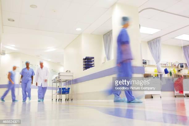 Cet hôpital est toujours bien remplie !