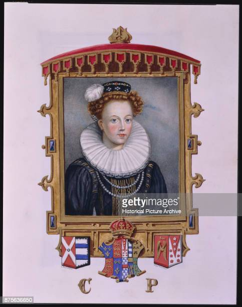 This illustration was published in Memoirs of the Court of Queen Elizabeth