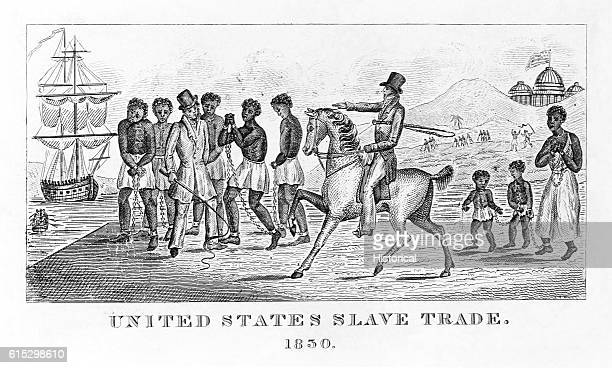 This illustration was used by abolitionists to raise awareness in the antislavery movement