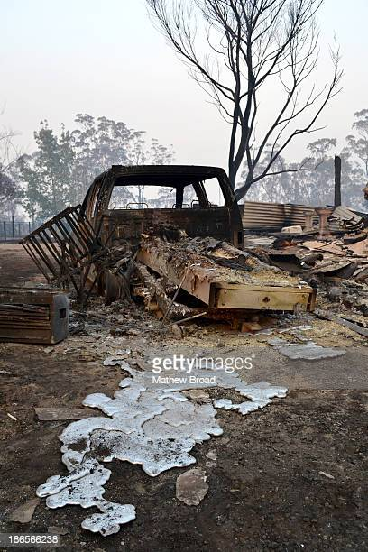 "This image is from the ""Linksview Rd"" fire that started in Springwood, the Blue Mountains, NSW, Australia as it passed through the suburb/locality of..."