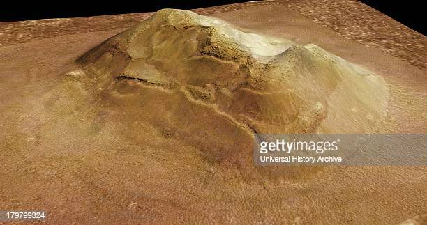 This image is of an eroded mesa made famous by its similarity to a human face Mars Reconnaissance Orbiter spacecraft
