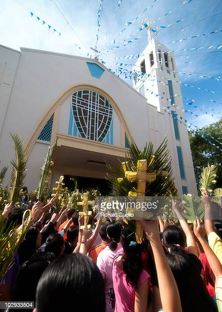 This image is taken outside Nuestra Señora Virgen de la Regla church Lapulapu City
