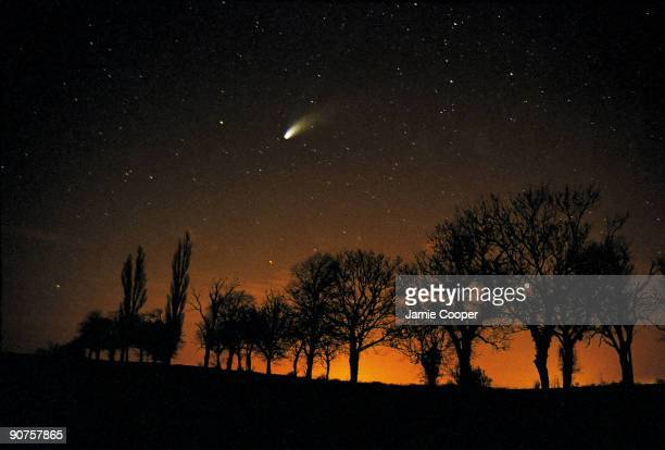 This image of comet HaleBopp was taken in March 2007 using a Canon SLR camera with a timed exposure of approximately 40 seconds Photograph by Jamie...