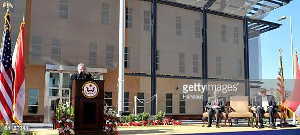 This image provided by the Iraqi President office shows the Iraqi President Jalal Talabani speaks as U.S. Deputy Secretary of State Iraqi Presidents...