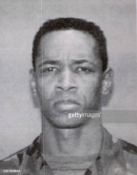 This image released by the Montgomery County Police Department 24 October shows John Allen Muhammad, a.k.a. John Williams. The county's police chief...