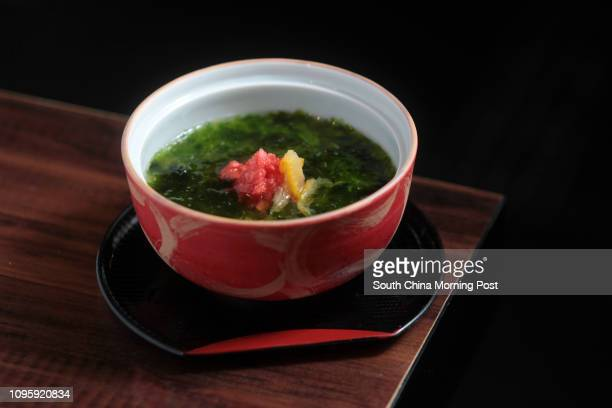 This image shows Chawanmushi at Sushi Dokoro Ikkei Japanese Sushi Restaurant in Tsim Sha Tsui. 30NOV15 [2015 FEATURES FOOD]