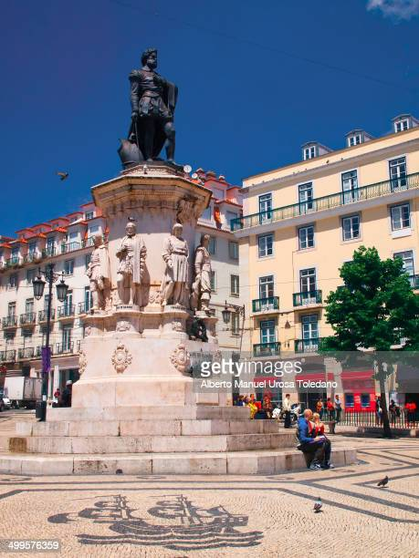 CONTENT] This image shows the Luiz de Camoes square in the Chiado neighbourhood in Lisbon It is possible to see the statue of the writer and a...