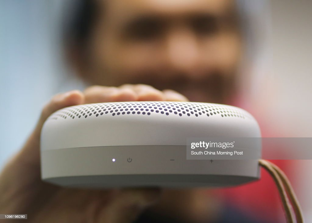 This image shows the new Beoplay A1 is the smallest Bluetooth
