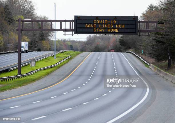 This in I50 Eastbound Wednesday morning as Maryland Virginia and the District issued stayathome orders on Monday joining a growing list of states and...