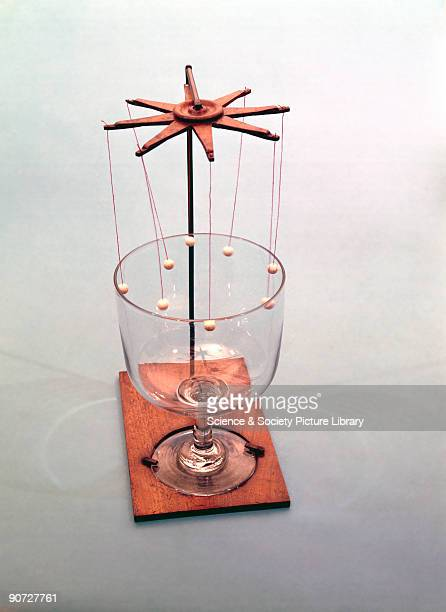 This instrument was designed illustrate Ernst Chladni�s work on the vibration of bells Chladni is widely regarded as the father of acoustics A wine...