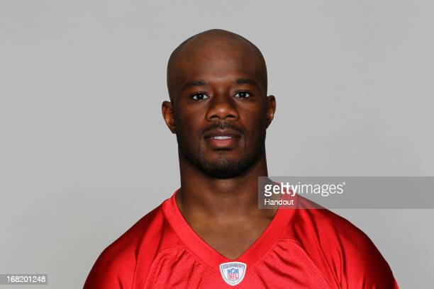 This is a 2012 photo of Darrin Walls of the Atlanta Falcons NFL football team This image reflects the Atlanta Falcons active roster as of Tuesday...