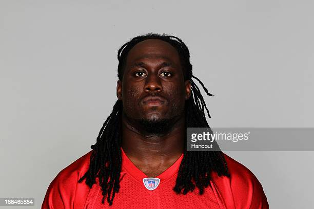 This is a 2012 photo of Jerrell Harris of the Atlanta Falcons NFL football team This image reflects the Atlanta Falcons active roster as of Thursday...
